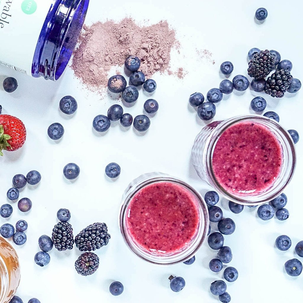 Berry Pre Workout Smoothie