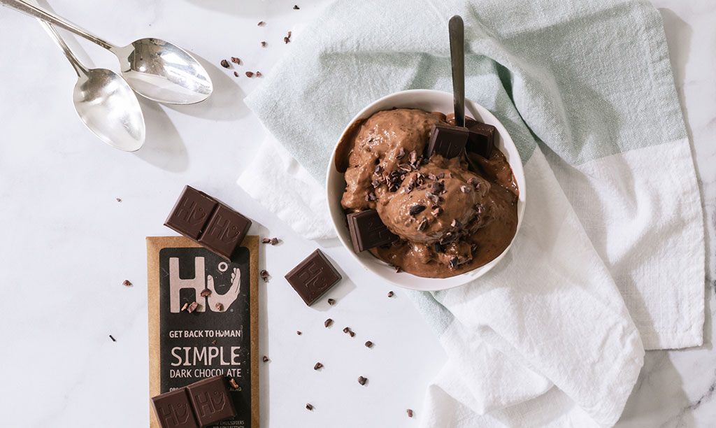 Hu Kitchen Chocolate in Ice Cream Bowl